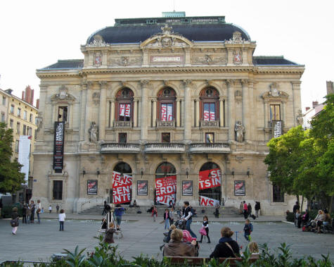 Celestin Theatre in Lyon France