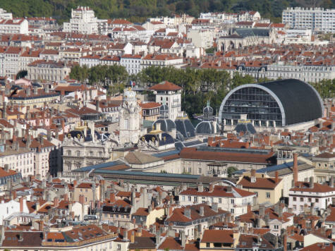 First Arrondissement in Lyon France